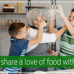 How to share a love of food with others