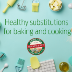 Healthy substitutions for baking and cooking