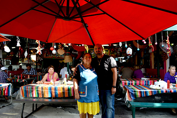 Family owners of Taqueria Aztlan of Redland Market Village