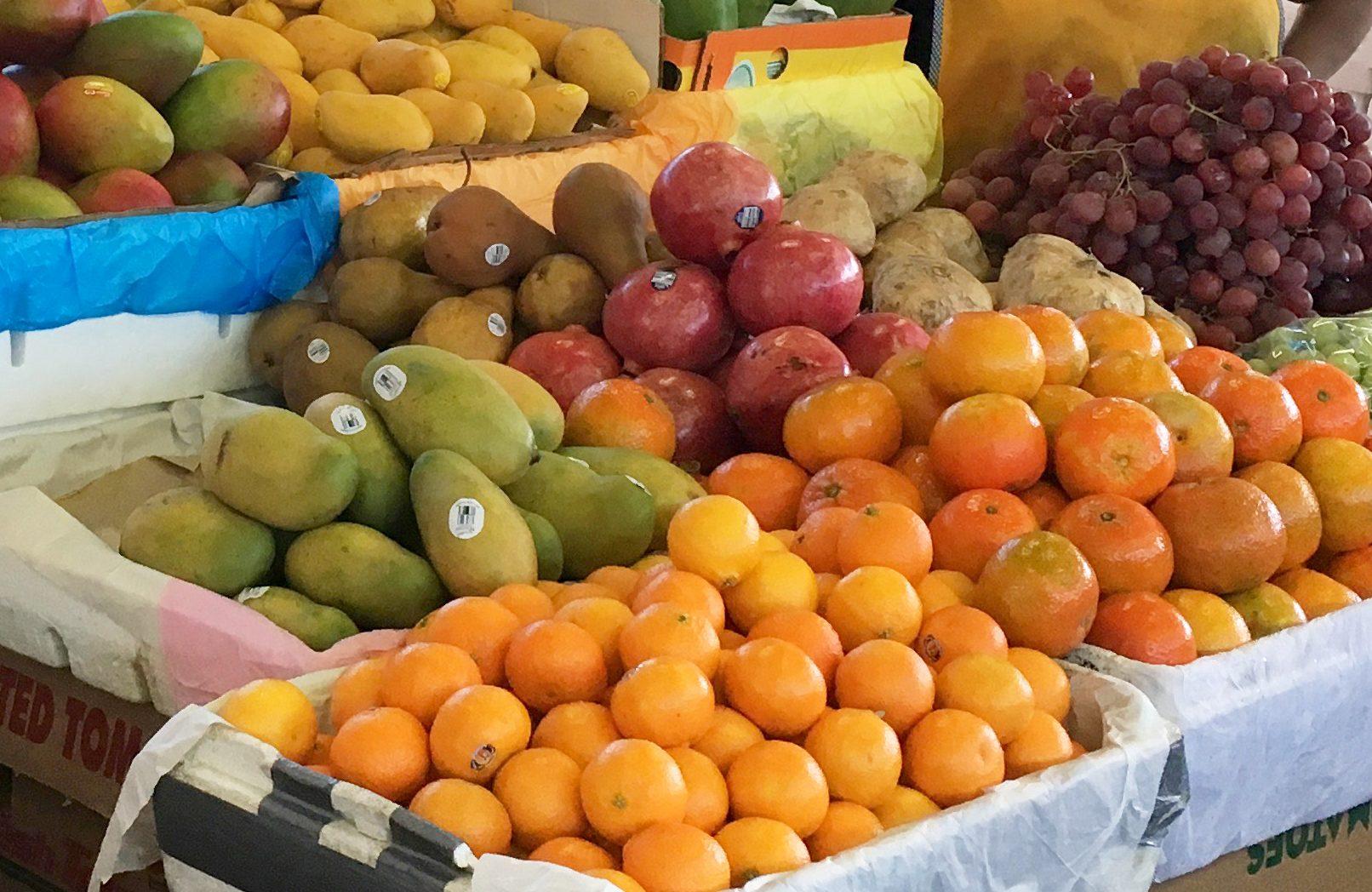amazingly fresh produce in the Redland Market Village Farmer's Market on your next village!