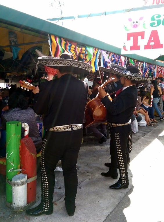 Mariachis while you eat - Courtesy Photo Miriam B. on Yelp.com