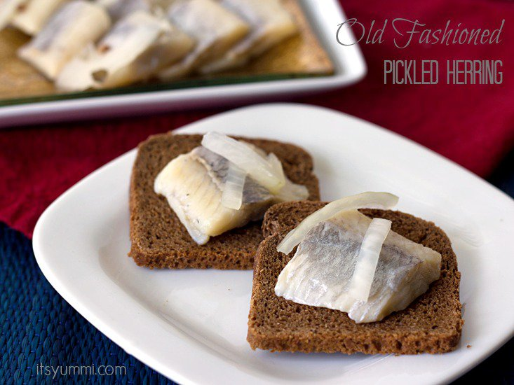 Lucky food Pickled Herring