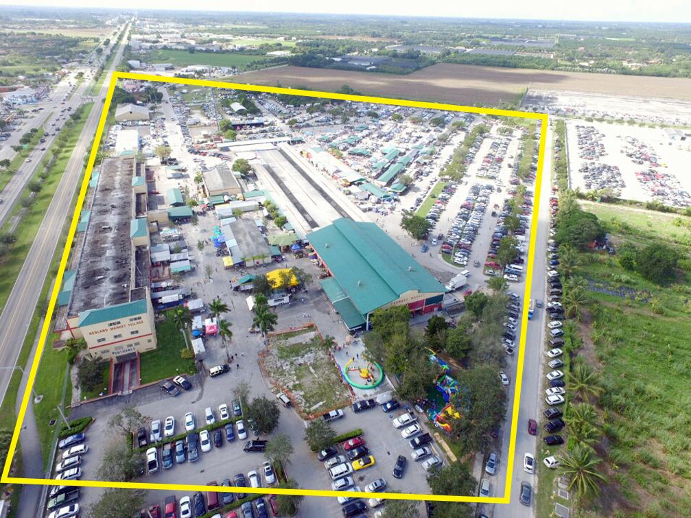 Redland-Market-Village-Aerial-Map