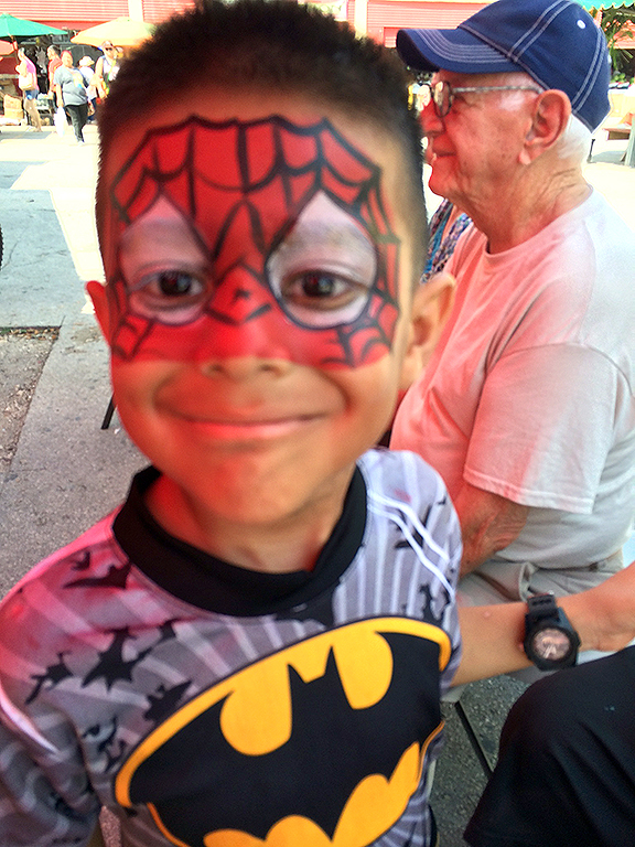 Redland-Market-Village-Kids-Face-Painting-2