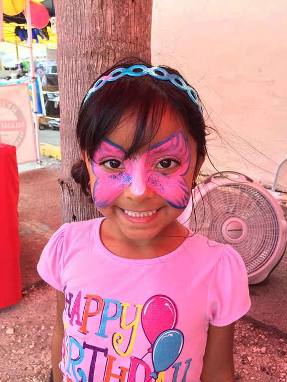 Redland Market Village - Kids Face Painting Booth