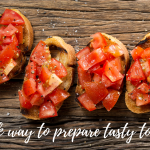 A quick way to prepare tasty tomatoes