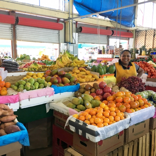 Visit Elena at C-03 & C-04 for some amazingly fresh produce in the Redland Market Village Farmer's Market on your next village!