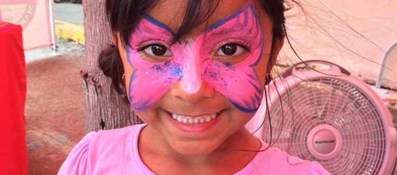 Kids Fun Zone Face Painting Booth!