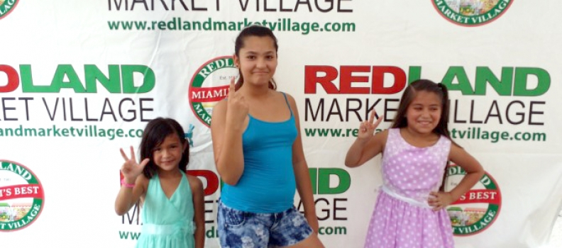Redland Market Village – Kids Karaoke Contest