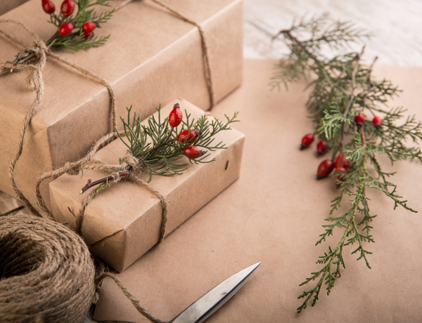 Alternative gift wrapping ideas for the holidays!