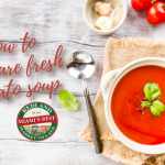 How to prepare fresh tomato soup