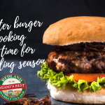 Master burger cooking in time for grilling season