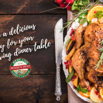 Prepare a delicious turkey for your Thanksgiving dinner table