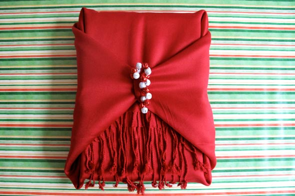 Wrap your gift with another beautiful gift